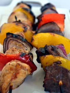 Kabob marinade. This was SO GOOD. Will be my go-to for all grilling forever. Perfect on chicken, would be great on steak, too.