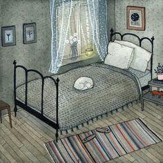 Bedroom by Yelena Bryksenkova