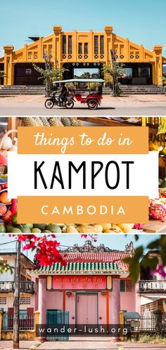 The ultimate Kampot travel guide – includes the best things to do in Kampot, Kampot secrets, Kampot day trips, and where to eat and drink. Cambodia Itinerary, Cambodia Travel, Vietnam Travel, Asia Travel, Luang Prabang, Laos, Places To Travel, Travel Destinations, Stuff To Do