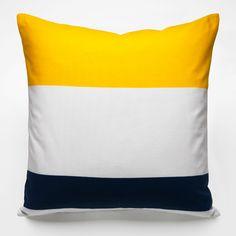 maritime squares pillow