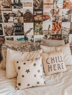 71 gorgeous bedrooms that will inspire some big ideas 27 Cute Room Ideas, Cute Room Decor, Wall Ideas, Wall Decor, Decoration Inspiration, Decoration Design, Inspiration Wall, Deco Rose, Aesthetic Room Decor