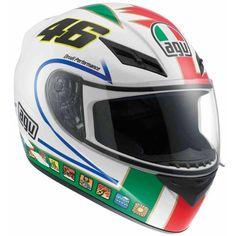 AGV offer the best AGV K3 Icon Valentino Rossi DOT Motorcycle Street Helmet.