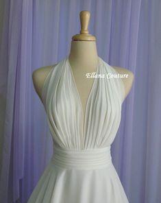 Liliana - Retro Inspired Tea Length Wedding Dress.
