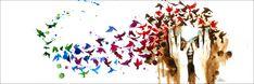 Birds Birds Birds by Lora Zombie | Eyes On Walls