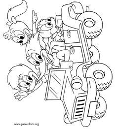 Woody Woodpecker is driving around with his girlfriend Winnie and his nephews Knothead and Splinter. Quote Coloring Pages, Colouring Pages, Coloring Books, Disney Cartoon Characters, Disney Cartoons, Cartoon Tv Shows, Cartoon Art, Diy Dog Toys, Woody Woodpecker