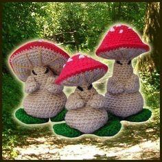 Amigurumi Pattern Crochet pdf  The 3 Oriental by DeliciousCrochet, $5.20