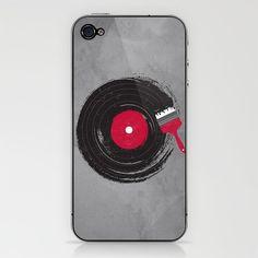 Art of Music iPhone & iPod Skin by Dan Elijah G. Fajardo