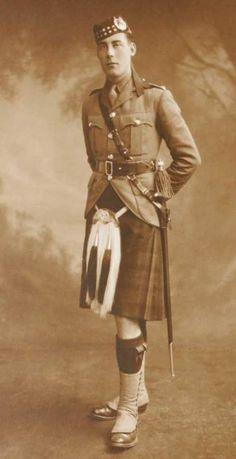 Gordon Highlanders: circa WWI