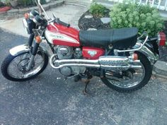 1973 Honda CL350 Scrambler, the bike I learned to ride on and started my addiction to being on two wheels!