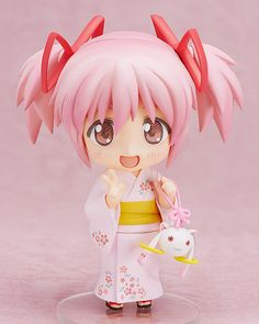 Limited-time offer! Get FREE shipping worldwide on pre-order items! The free shipping makes it a great buy! Now is your only chance!   Offer Ends: June 26, 2014   Madoka Kaname from Puella Magi Madoka Magica the Movie is dressed in a yukata again! This Nendoroid is inspired by a nearly identical 1/8th scale figure previously released by FREEing! However, Madoka-chan in Nendoroid form is ext...