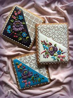 ❤ Boulevard of dreams ❤ Iced Cookies, Cute Cookies, Easter Cookies, Sugar Cookies Recipe, Cookies Et Biscuits, Russian Cookies, Hungarian Cookies, Cookie Icing, Royal Icing Cookies