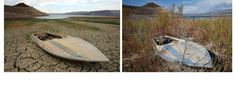Lake Mead: Before and After the Epic Drought