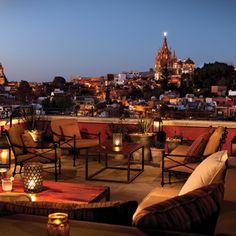 Mexico Luna Rooftop Tapas Bar, Rosewood San Miguel de Allende