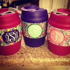 Monogrammed Bubba Kegs by SouthernlyTwinning on Etsy, $24.99 - bridesmaids?!?