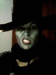 Gloria ortiz de bruja mala del oeste Maquillaje carnaval glorar