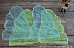 Talking Trash & Wasting Time: Cheap & Easy FAIRY WINGS Tutorial NO SEW