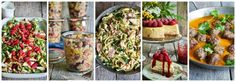 One pot wonder - lettvint gryterett - Mat På Bordet Bun Burger, Pasta Med Pesto, Crunch Wrap, One Pot Wonders, Indian Food Recipes, Ethnic Recipes, One Pot Pasta, Lemon Curd, Tex Mex