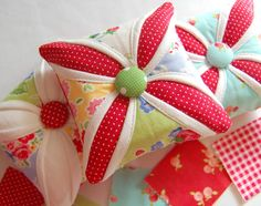 square flower pin cushion