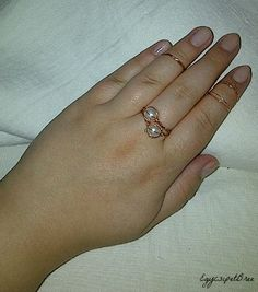 DIY rings :) Diy Rings, Heart Ring, Jewelry, Jewlery, Jewerly, Ring Crafts, Schmuck, Heart Rings, Jewels