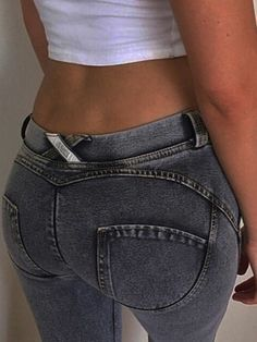 2339995d 2017 American Apparel Pants Jeans Femme Women Fashion Low Waist Autumn Sexy  Hip Push Up Jean Pantalon Femme Trousers - BenJuma