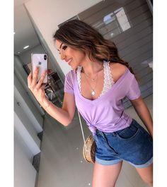 Resultado de imagem para podrinhas blusas Moda Tie Dye, Moda Boho, Off White, Popular, Crop Tops, Manga, Instagram, Fashion, Young Fashion