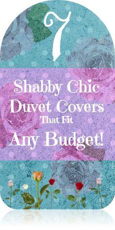 7 amazing Shabby Chic duvet cover options!