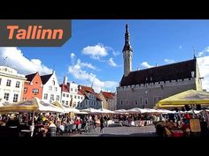 Tallinn Estonia - HD Video Tour of the City Enjoy. Tallinn is the capital and largest city of Estonia. City was known as Reval from the century until . Baltic Sea, Hd Video, Tours, Mansions, Country, House Styles, City, Youtube, Beautiful