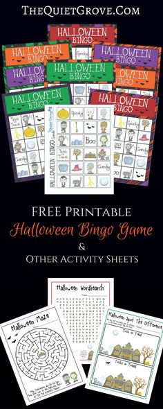 Halloween I Spy Printables   Spy, Activities and Halloween fun
