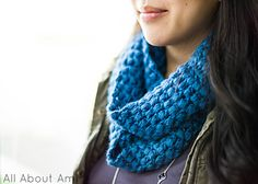 Puff Stitch Scarf , free pattern
