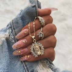 Nail art Christmas - the festive spirit on the nails. Over 70 creative ideas and tutorials - My Nails Aycrlic Nails, Cute Nails, Pretty Nails, Hair And Nails, Coffin Nails, Nail Nail, Bling Nails, Nail Swag, Best Acrylic Nails