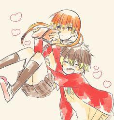 tonari no kaibutsu kun | Tumblr  Haru and Shizuku!!! So adorable!!