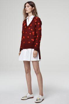 Thakoon Addition Resort 2015 Fashion Show - Manuela Frey