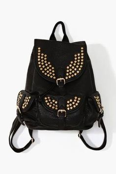 love the style of these bags!!! Studded Backpack 487f8018b8f2f