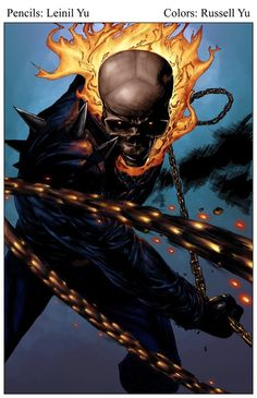 Ghost Rider by Leinil Yu and Russell Yu