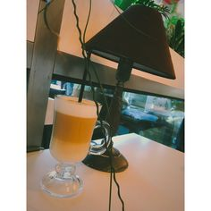 #coffee #cofeelover #lamp #glass #vintage