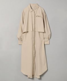 レイヤーロングシャツワンピース|[公式]ジーナシス (JEANASIS)通販 Duster Coat, Jackets, Style, Products, Fashion, Down Jackets, Swag, Moda, Fashion Styles