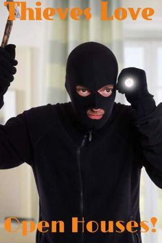 How to Avoid Getting Robbed From an Open House: http://www.maxrealestateexposure.com/how-to-avoid-getting-robbed-from-an-open-house/  #realestate