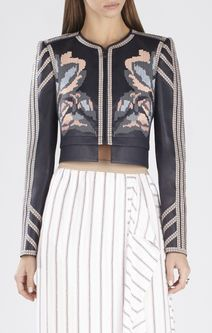 Duke Embroidered Jacquard Jacket