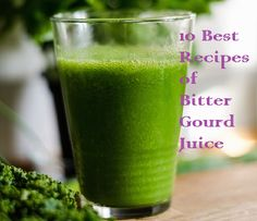 Top 10 best recipes of Bitter Gourd Juice. Bitter gourd is always proved as beneficial for health, specially for diabetes and many more diseases. Bitter gourd juice/ karela juice are used as medicine for diabetes. Melon Smoothie, Juice Smoothie, Smoothies, Healthy Juices, Healthy Tips, Gourd Vegetable, Blended Drinks, Bitter Melon, Juicing For Health