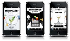 Drinkspiration by Absolut is a free app provides you with an instant drink recommendation no matter what your preferences are. Just tell the app what drinks you are looking for – based on categories such as taste, color, weather, trends, time, location, bar vibe, or much, much more. This app even has a location based feature using GPS!