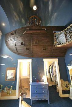I don't care if this is supposed to be for a boy's room, I love it!