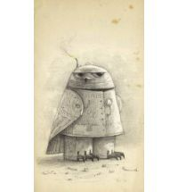 Shaun Tan: This image is perfect for a child. The owl is made from shapes which children can more easily but it also has not too much detail which yet again a child can easily understand and not lose attention, this is very well considered and a great piece. It also has a sense of Shaun Tan's dark style with the eyes.