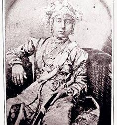 The original picture of Jhansi Rani Laxmi Bai. This picture has been taken by German photographer Hoffman 160 years ago