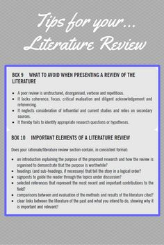 link to how to write a literature review opens pdf in new window we hope you these tips on literature reviews useful if you want more info acircmiddot thesis writingacademic writingessay