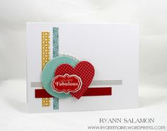 You Are Fabulous Card by Ryann Salamon