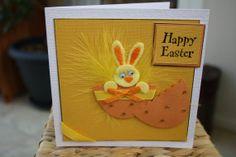 Easter greetings card handmade cards Easter by sweetygreetings, £1.50