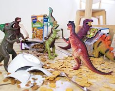 Pin for Later: Is Dinovember the Next Elf on the Shelf? Breakfast Battles