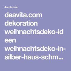 deavita.com dekoration weihnachtsdeko-ideen weihnachtsdeko-in-silber-haus-schmuck.html