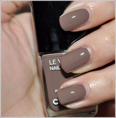 Chanel nail polish...great color.