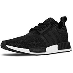 a06c8b90d Womens NMD R1 PK Nomad Runner Primeknit  Winter Wool  Core Black White.  Jessica Cullen · Shoes